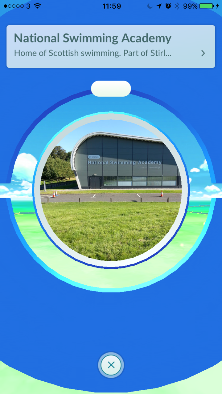 Pokemon GO Pokestop – National Swimming Academy