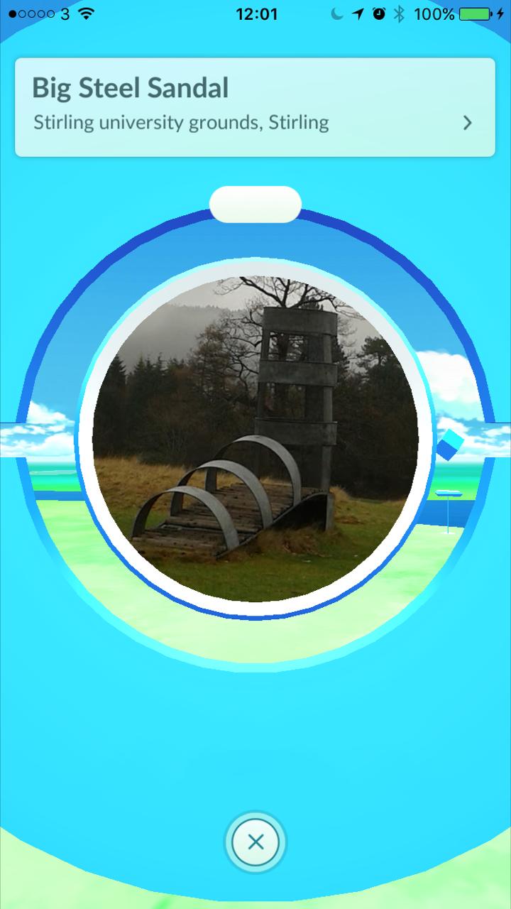 Pokemon GO Pokestop – Big Steel Sandal