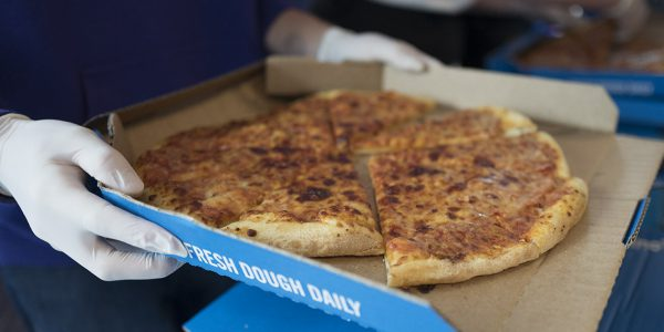 Domino's Pizza at Stirling Uni's Freshers Week 2016