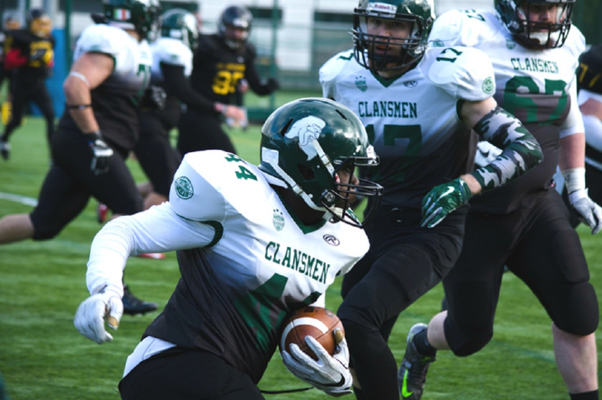 University of Stirling American Football team The Clansmen