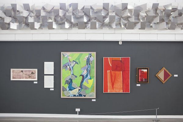 Collection of art in Crush Hall