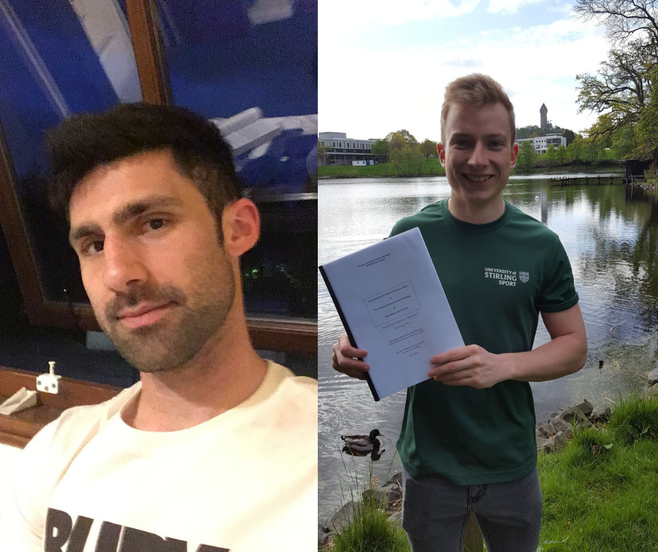 two of our students give their reasons why postgraduates choose Stirling