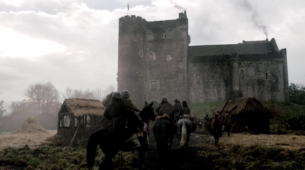 Doune Castle in the Outlander series