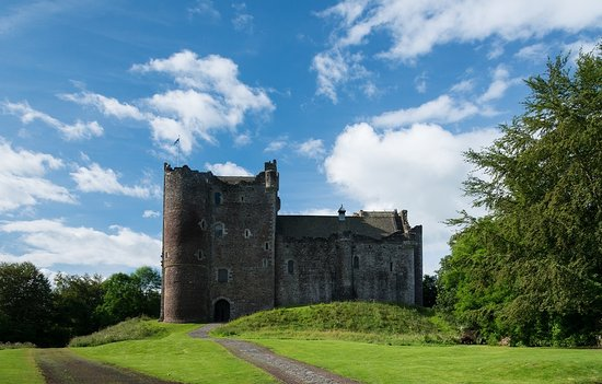 Doune Castle on a normal day