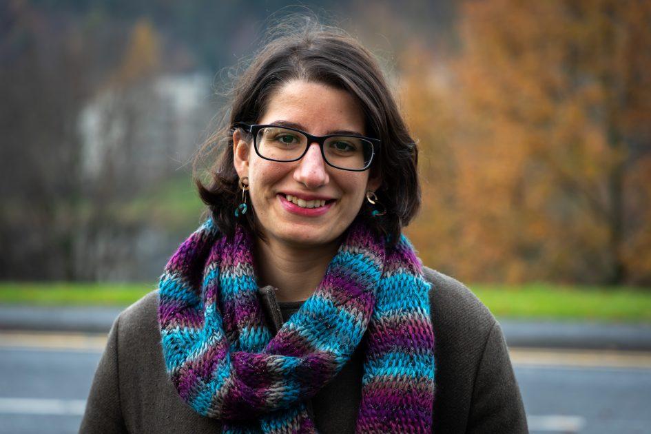 Stirling student Helen Kepellien