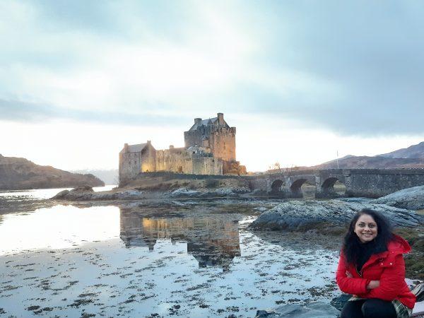 Priya in the Scottish Highlands