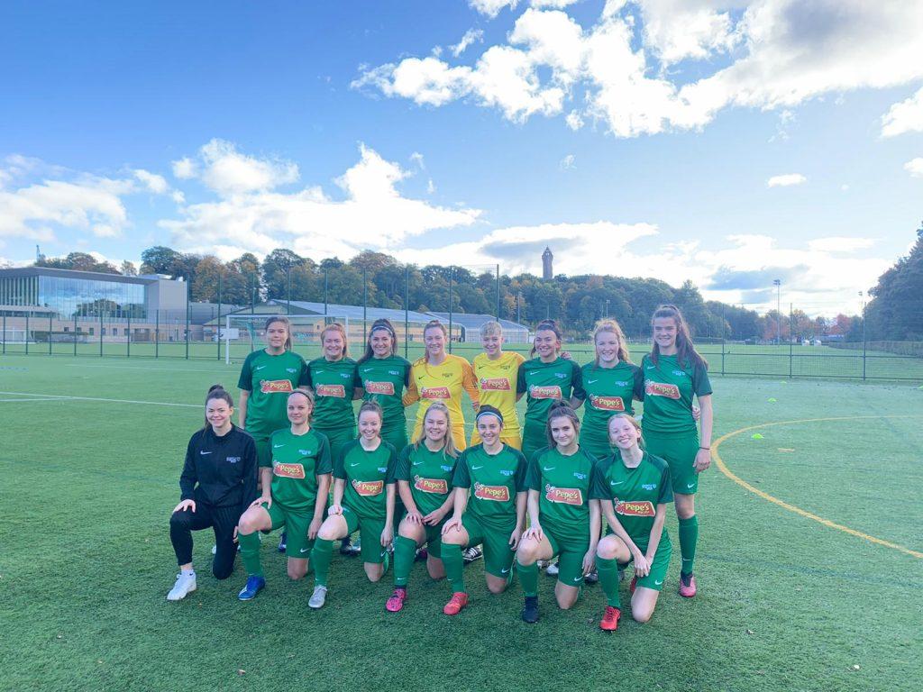 Photo of University of Stirling Women's football team