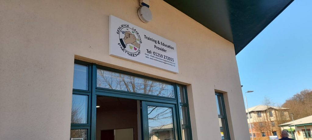 Image of the Resilience Learning Partnership building.